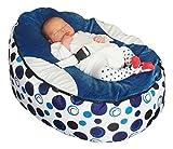 Baby Bean Sitzsack für Babys, Blau