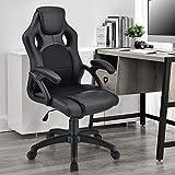 ArtLife Racing Schreibtischstuhl Montreal schwarz | Kunstleder | höhenverstellbar | ergonomisch |...
