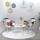 VADIM Esszimmerstühle, 2er Set Küchenstuhl Polsterstuhl Wohnzimmerstuhl Sessel mit Rückenlehne,...
