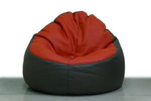 haltbarer Sitzsack aus Leder
